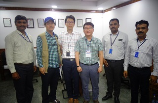 Korean Agency of HACCP Accrediation and Services (Korean FDA) visit our Kunigal facility on Nov 15th, 2017 to inspect the production