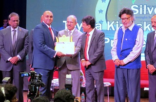 Sami Labs was honoured with 'Best Manufacturer Exporter Award Gold' in Large Category at the 13th edition of Export Excellence Awards – 2018, organized by the Federation of Karnataka Chambers of Commerce & Industry (FKCCI), Bangalore. Mr. K Ravi, President, Federation of Karnataka Chambers of Commerce & Industry (FKCCI) presented the award to Mr. Shaheen Majeed, President worldwide, Sabinsa