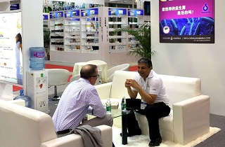 Sabinsa China exhibits and sponsors session on Digestive Health at SupplySide China.