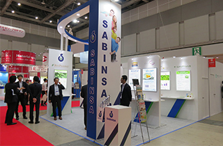 Sabinsa Japan demonstrates its proprietary Ayurvedic-based nutraceutical ingredients in one of the biggest Health Ingredients & service exhibition & conference in Japan