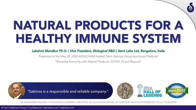 Sabinsa-Presentation-Natural-Products-For-A-Healthy-Immune-System